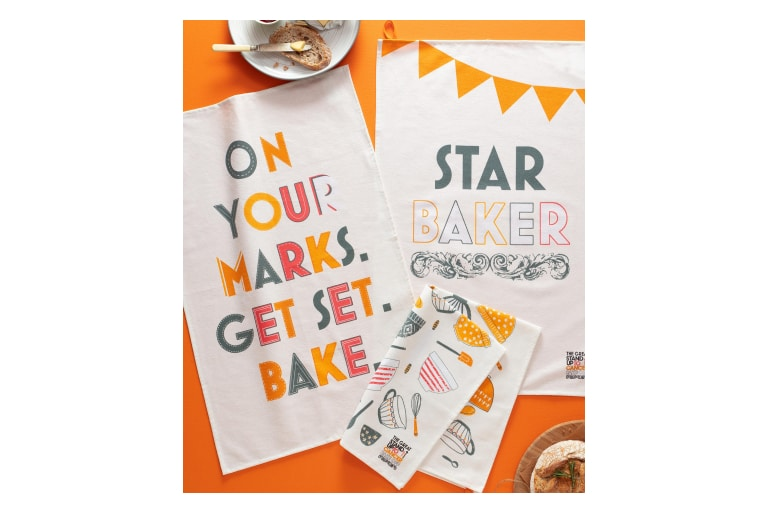 Bake Off 2020 Star Baker Pack of 3 Tea Towels