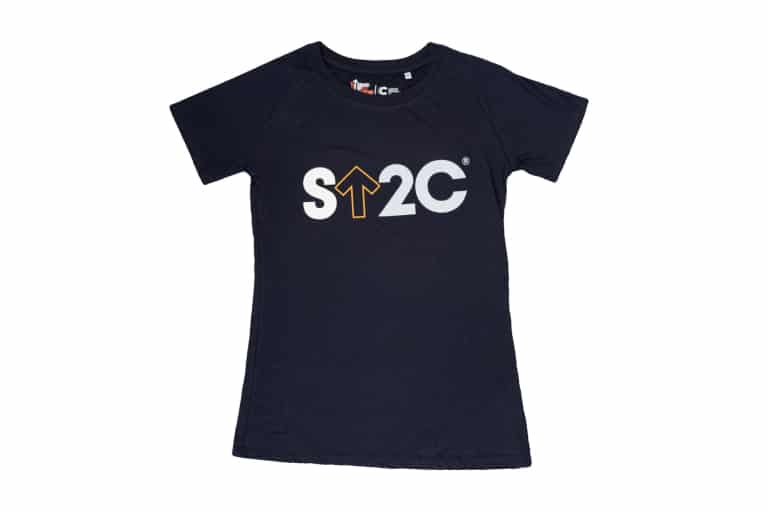 Stand Up To Cancer Women's Navy T-shirt