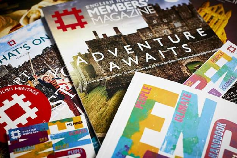 English Heritage Family Membership 2 Adults