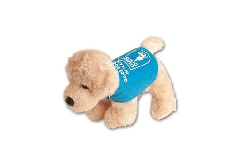 Guide Dog Golden Retriever Puppy Toy
