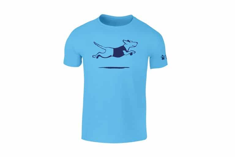 Guide Dogs Blue Womens T-Shirt