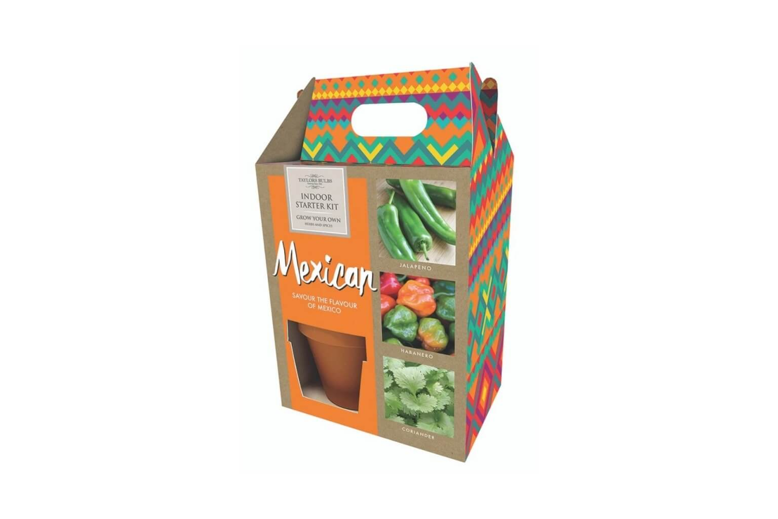 Mexican Herbs + Chillies Grow Your Own Kit